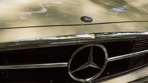 mercedes oldtimer retro car