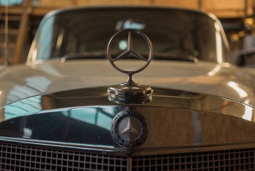 mercedes oldtimer car brand