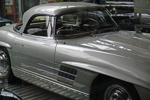 mercedes  roadster  classic