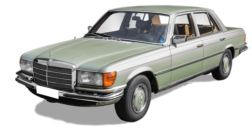 mercedes-benz 280s  type w116  year of construction 1972-1980