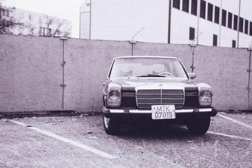 mercedes-benz,klasikinis automobilis,automobilis,automatinis,automobilis,oldtimer vokiečių automobilis,juoda ir balta,senamadiškas,senovinis automobilis