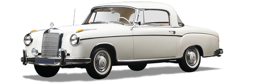 mercedes benz  220 s  coupe