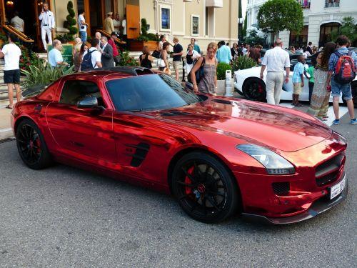 mercedes sls auto sports car