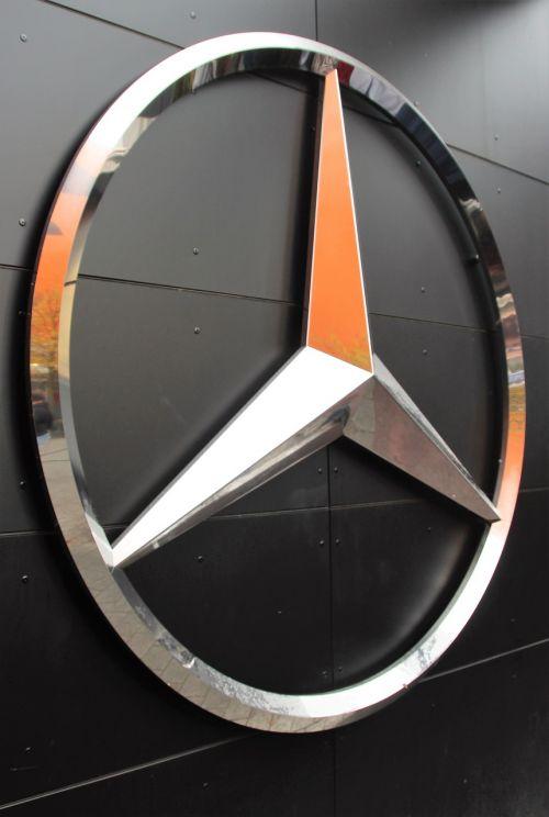 mercedes star brand emblem