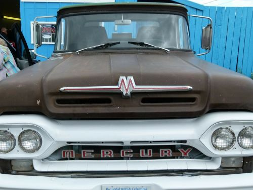 mercury truck car