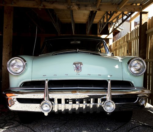 mercury monterey  vintage car  american car
