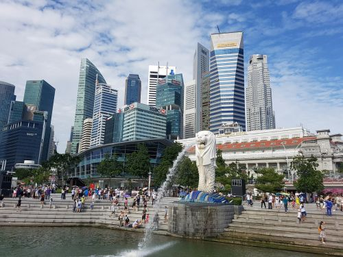 merlion singapore singapore merlion