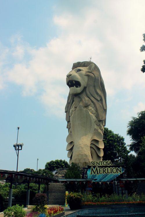 merlion singapore sentosa