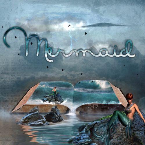 mermaid sea woman