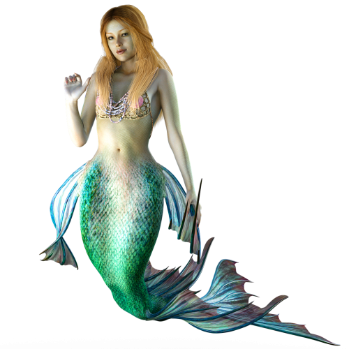 mermaid water creature mystical