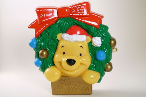 merry christmas season's greetings pooh