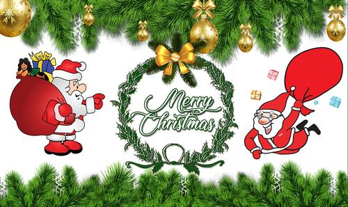 merry christmas  banner  christmas