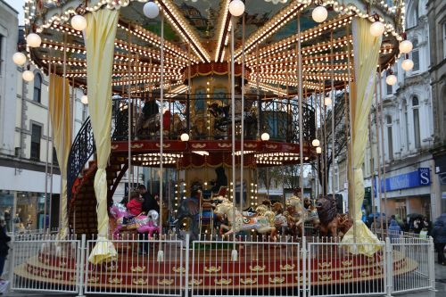 merry go round fair fun