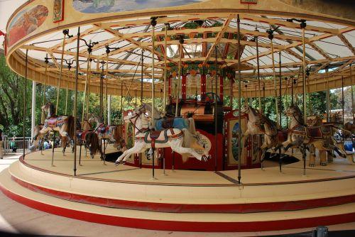 merry-go-round carousel ride