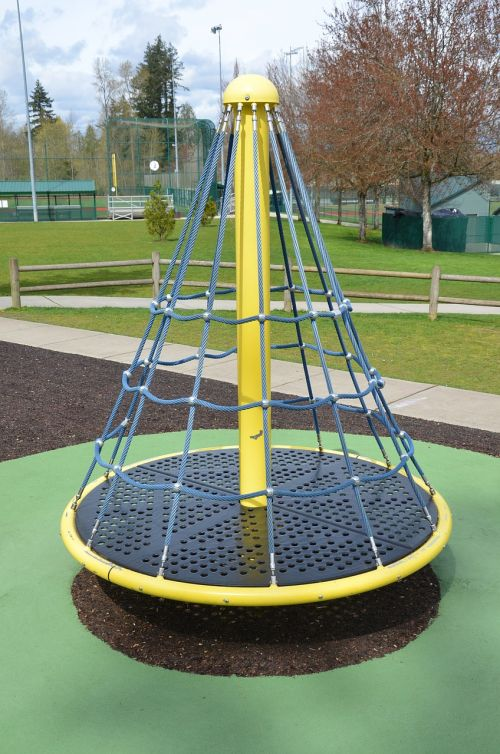 merry-go-round park ride