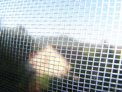 mesh grille fence