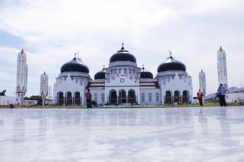 mesjid raya baiturrahman,Ačehas,islamic