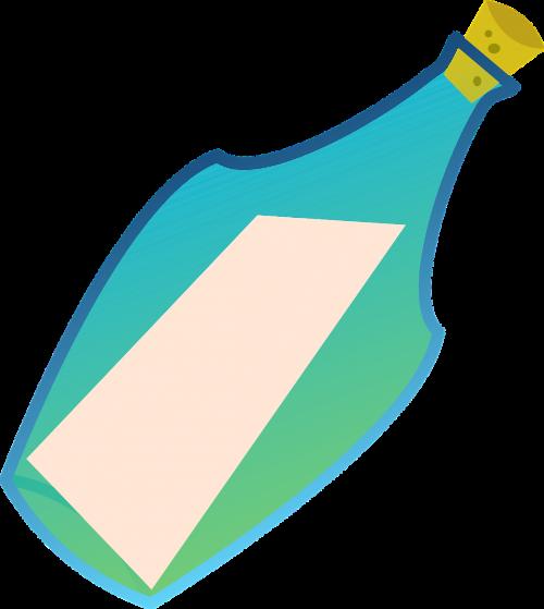 message in a bottle bottle drift bottle