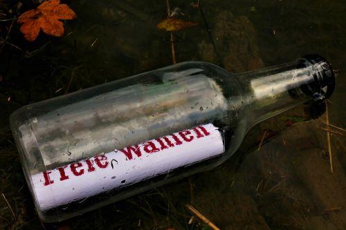 message in a bottle message bottle