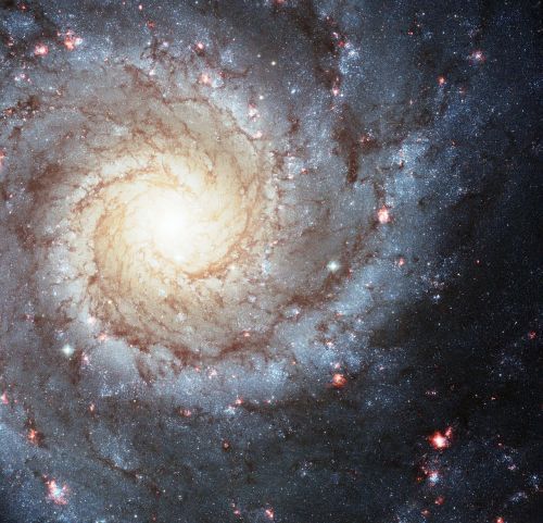 messier 74 ngc 628 spiral galaxy