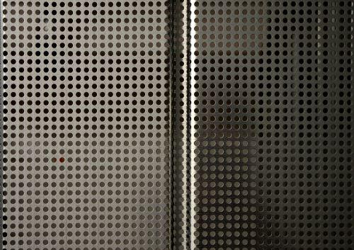 metal perforated sheet texture