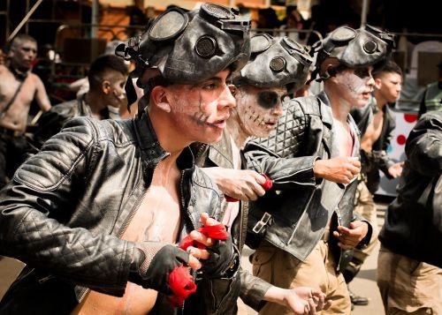 metal dance masks