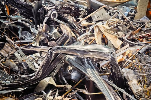 metal  recycling  waste