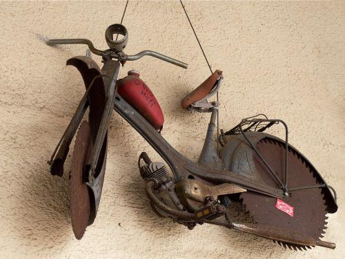 metal metalworking motorcycle