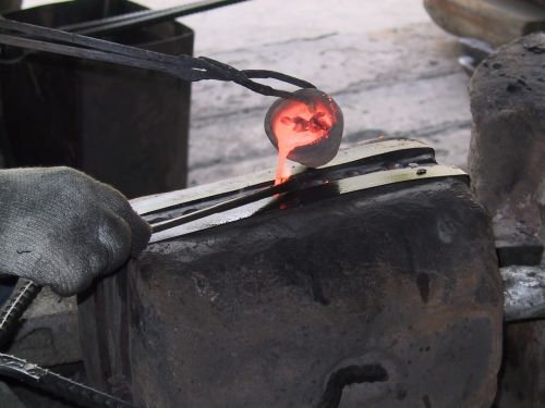 metal molten blacksmith