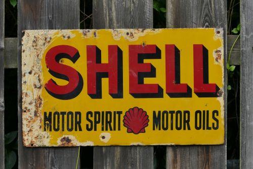 metal sign shell