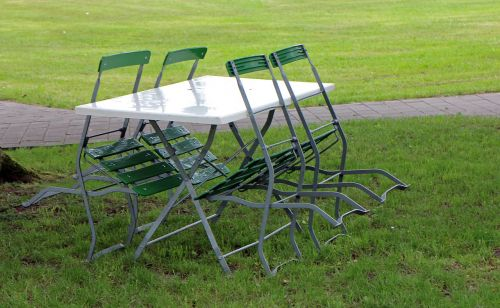 metal chairs garden furniture garden table