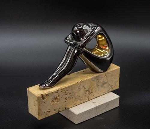metal figure  statue  sculpture