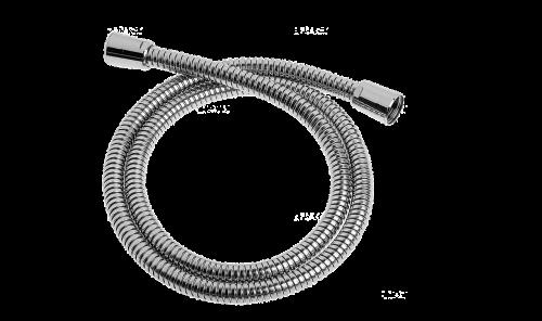 metal hose isolated metal