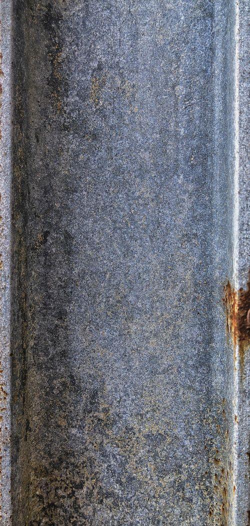 metal profile weathered rusty