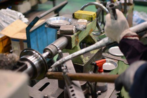 metal spinning family-run business craftsman