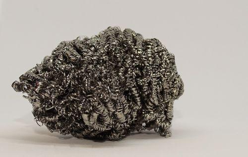 metal sponge pot cleaner steel wool