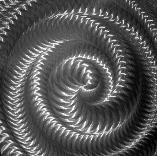 Metal Twirl Background