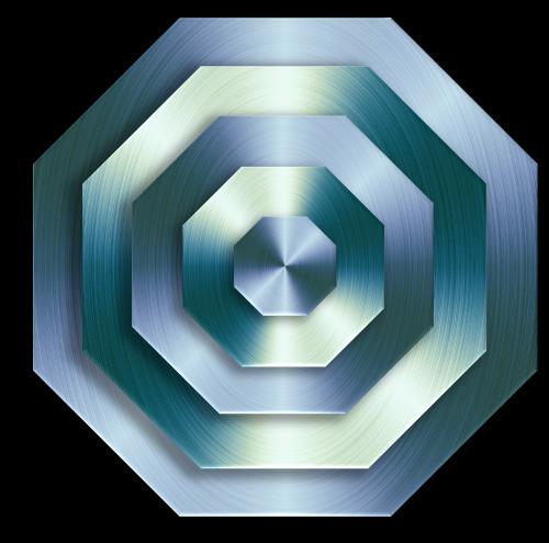 metallic surface 3d