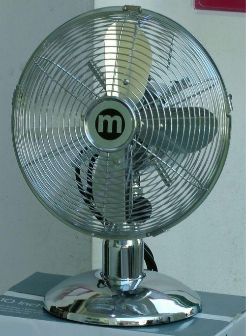 Metallic Fan