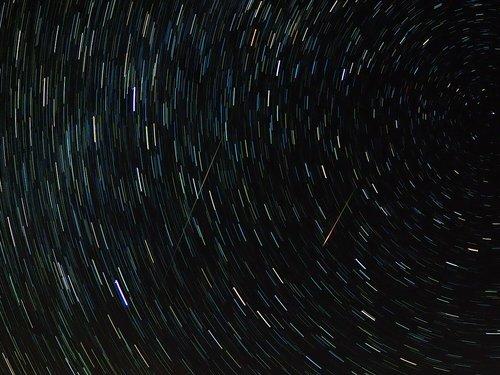 meteor  shooting star  perseids
