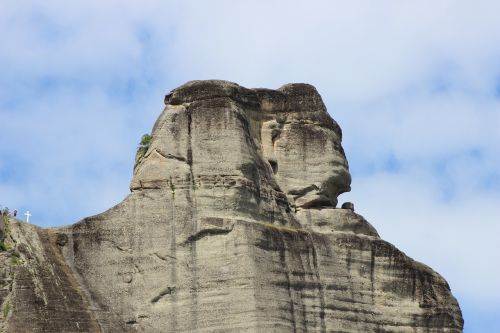 meteora rocks sphinx