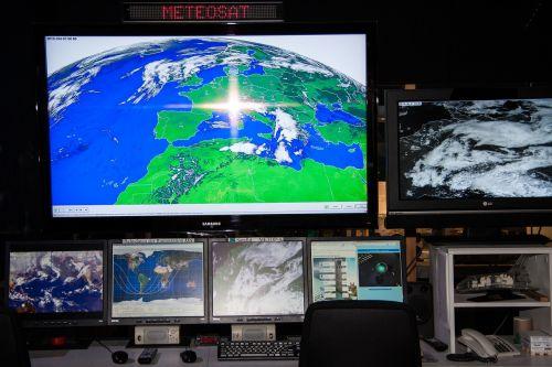 meteosat weather satellite workplace