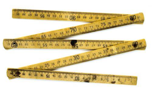 meter rule folding