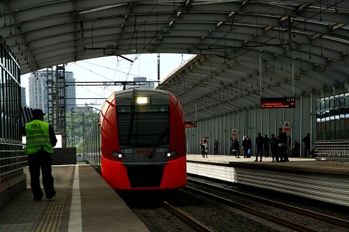 metro train rails