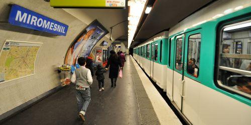 metro paris transport