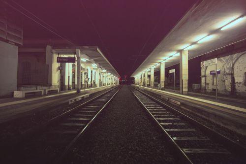 metro subway rails