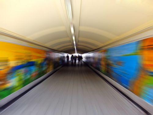 metro blur tunnel
