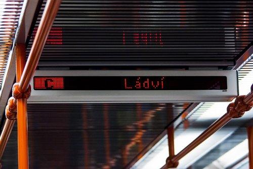 metro c station ládví  ládví  metro c
