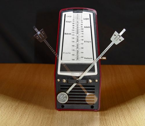 metronome clock music