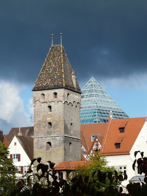 metzgerturm ulm city view